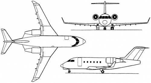 Bombardier Challenger 600 / 601 / 604 (Canada) (1978)