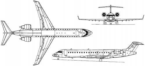 Bombardier CRJ-700 (Canada) (1999)