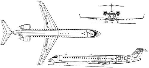 Bombardier CRJ-900 (Canada) (2001)