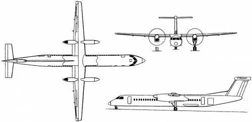 Bombardier Dash 8 Q400 (Canada) (1998)