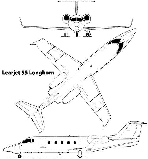 Bombardier Learjet 55 Longhorn