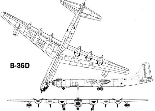 Convair B-36D Peacemaker