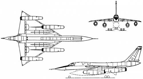 Convair B-58 Hustler (USA) (1956)