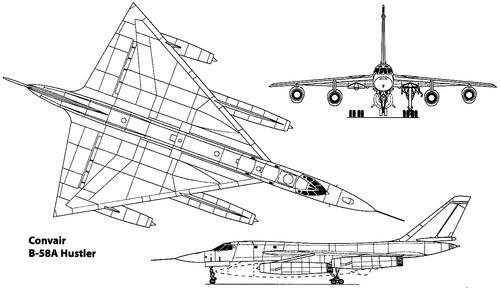 Convair B-58A Hustler
