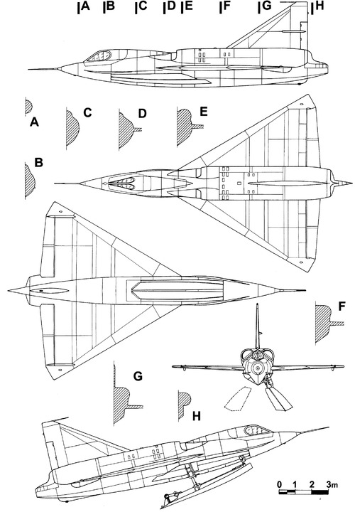 Convair F2Y-1 Sea Dart