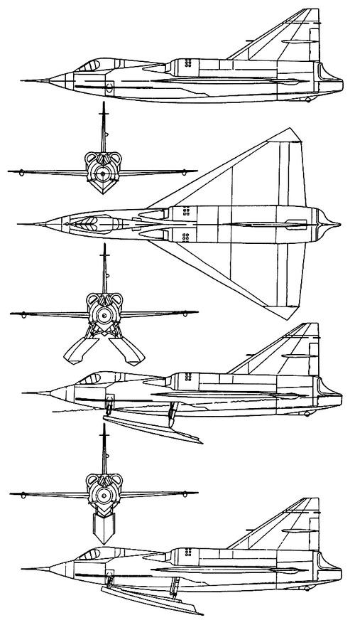 Convair F2Y Sea Dart