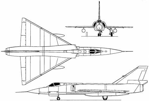 Convair F-106 Delta Dart (USA) (1956)