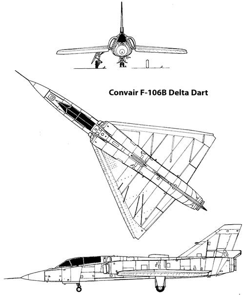 Convair F-106B Delta Dart