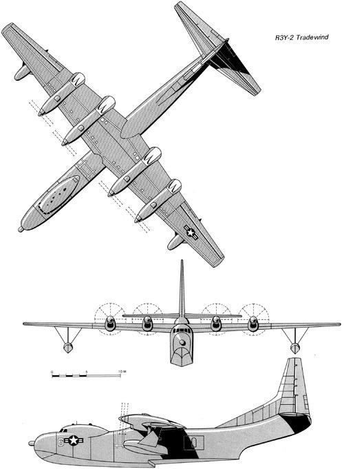 Convair R3Y-2 Tradewind