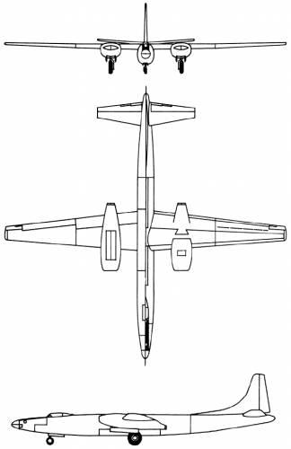 Convair XB-46 (USA) (1947)