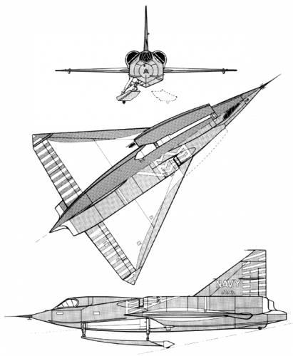 Convair XF2Y-1 Sea Dart