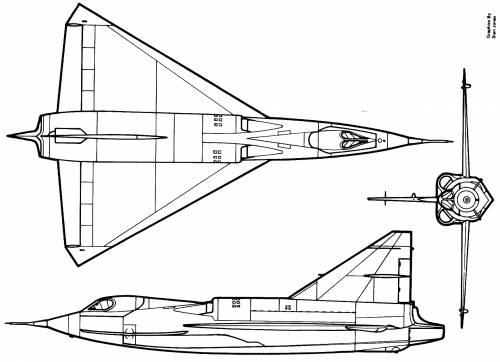 Convair XF2Y Sea Dart