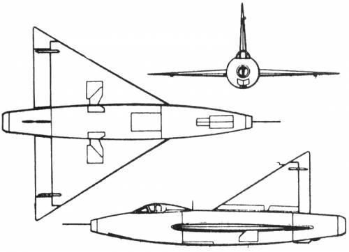 Convair XF-92 (USA) (1948)