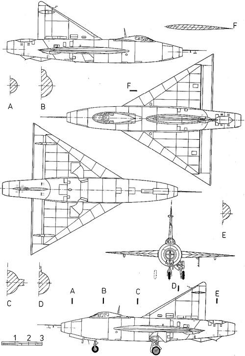 Convair XF-92A Dart