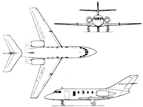 Dassault-Breguet HU-25A Guardian