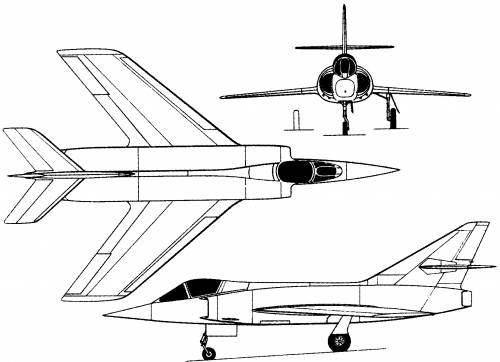 Dassault Etendard II (France) (1956)