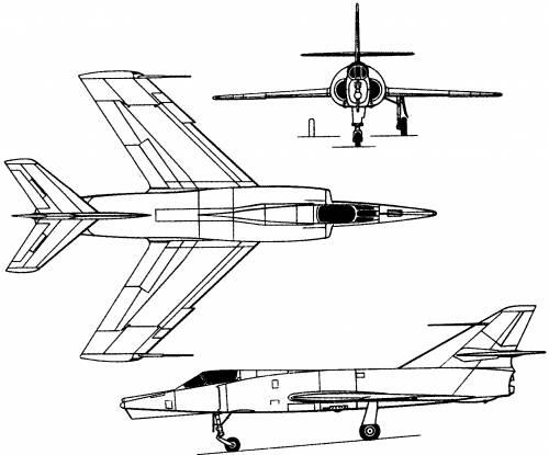 Dassault Etendard IVM (France) (1958)
