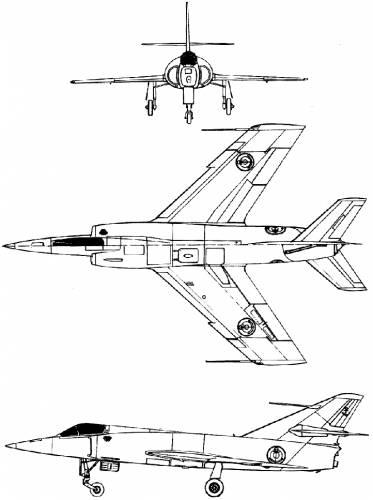 Dassault Etendard IVM (prototype)