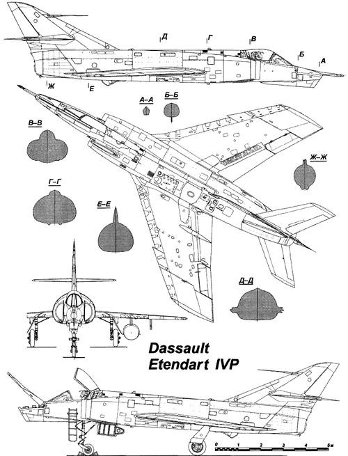 Dassault Etendard IVP