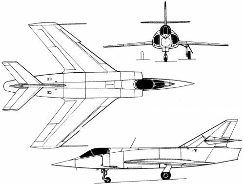 Dassault Etendard VI (France) (1957)