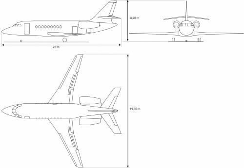Dassault F2000 EX