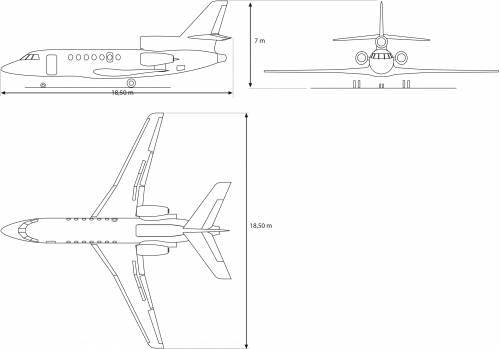 Dassault F50 EX