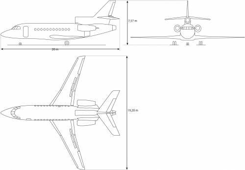 Dassault F900 EX