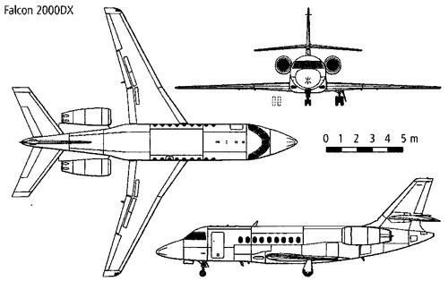 Dassault Falcon 2000DX