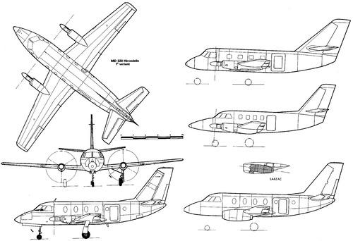 Dassault MD320 Hirondelle