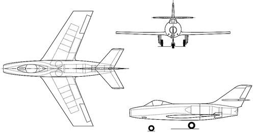 Dassault MD452 Mystere II