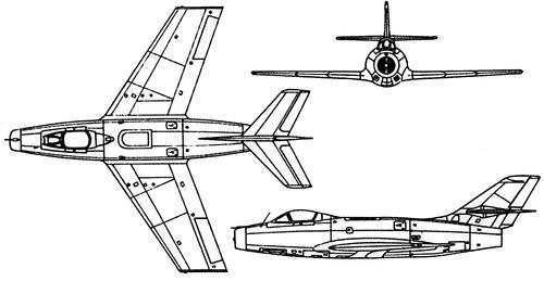 Dassault MD452 Mystere IIC