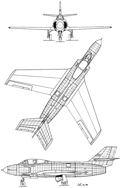 Dassault MD453 Mystere IIIN
