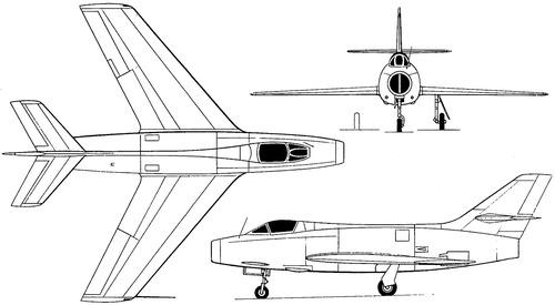 Dassault MD454 Mystere IVA