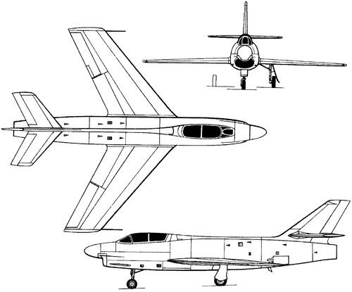 Dassault MD454 Mystere IVN