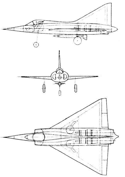 Dassault MD500 Mystere Delta