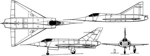 Dassault MD550 Mystere-Delta
