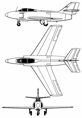 Dassault MD 453 Mystere III