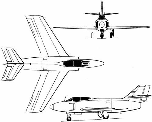 Dassault MD 453 Mystere IIIN (France) (1952)