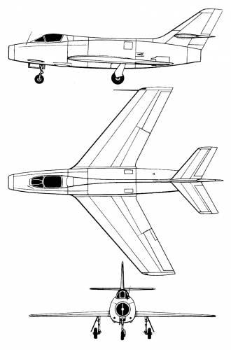 Dassault MD 454 Mystere IVA