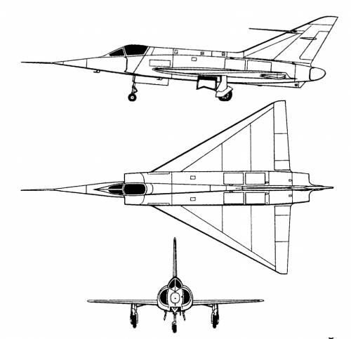 Dassault MD 550 Mirage I