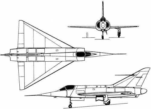 Dassault MD 550 Mirage I (France) (1955)