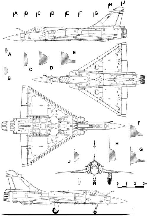 Dassault Mirage 2000-9Rad
