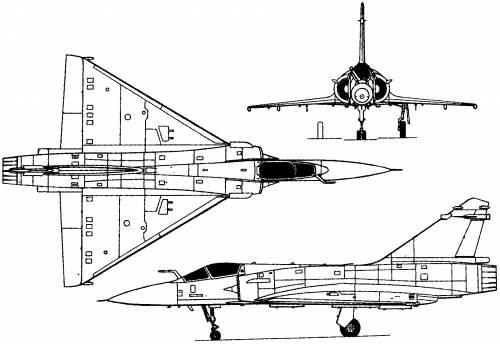 Dassault Mirage 2000 (France) (1978)