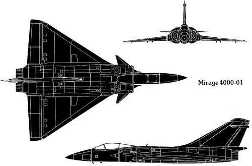 Dassault Mirage 4000-01