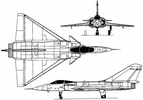 Dassault Mirage 4000 (France) (1979)