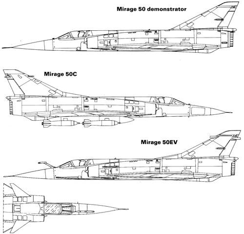 Dassault Mirage 50