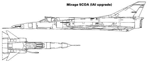 Dassault Mirage 5COA (IAI)