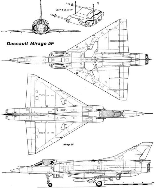Dassault Mirage 5F