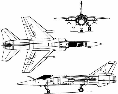 Dassault Mirage F1 (France) (1966)