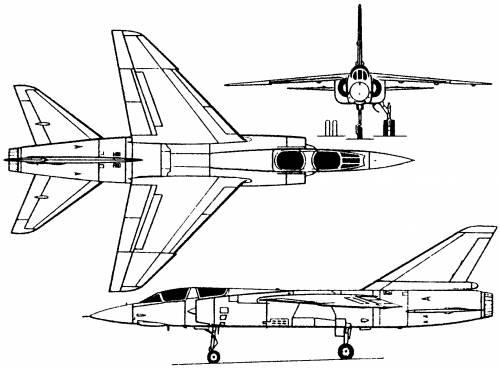 Dassault Mirage F2 (France) (1966)